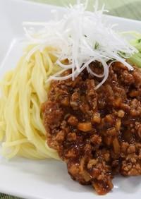 乾麺でジャージャン麺