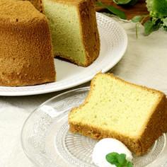 もち大麦粉入りシフォンケーキ