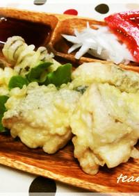 さわらの天ぷら