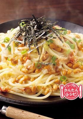 納豆とろろスパゲッティ