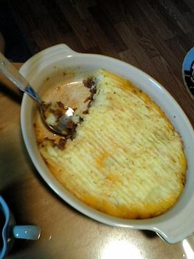 絶品☆ひき肉とマッシュポテトの重ね焼き