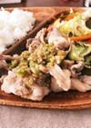 豚肉・鶏肉に合うタレ〜ネギ塩〜