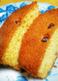 HM&ケーキ用マーガリンでパウンドケーキ