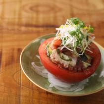 明石タコと丸ごとトマトの夏仕立て