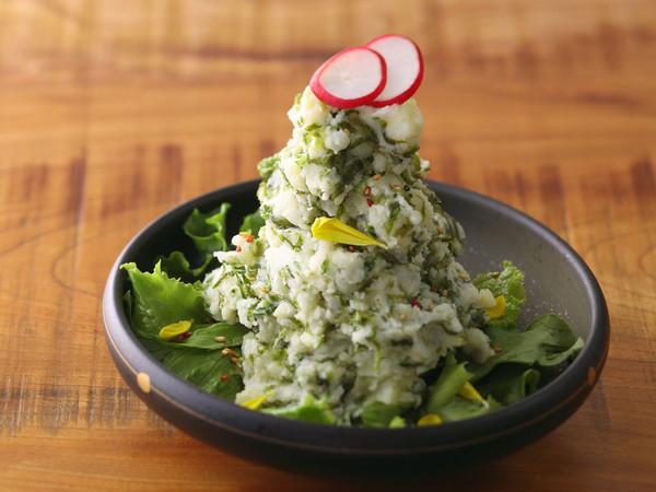 生海苔のポテトサラダ