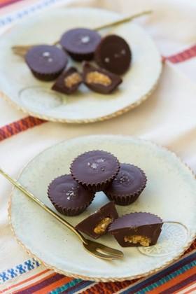 ピーナッツハニー塩チョコレート