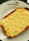 簡単メロンパントースト