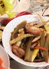 春の山菜で!笹竹と新ブキの炒め煮