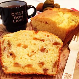 簡単☆梅酒の梅deパウンドケーキ