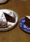 炊飯器で作るお手軽チョコケーキ(甘め)