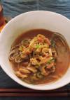 レトルトカレーで作る簡単カレーうどん蕎麦