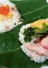 初夏の飛弾名物、ほう葉寿司、我が家流
