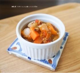 離乳食 ラタトゥイユ風〜トマト煮☆