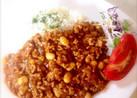 フライパンで簡単、時短。うちの豆カレー!