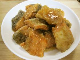 カンタン酢で作る銀鮭南蛮漬byイオン亀岡