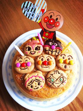 簡単♪アンパンマンキャラケーキ