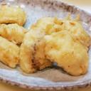 旬の肴 鱧の天ぷら(生ハモ売ってたら)