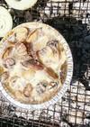 あさりと牡蠣のアヒージョ