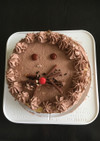 かわいいライオンケーキ