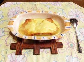 市販プリンで作るトロトロフレンチトースト