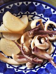 イカと大根の煮物の写真