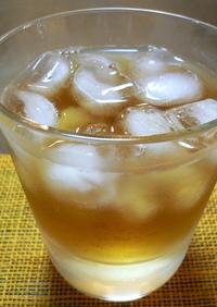 梅酒のウーロン茶割り