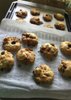 HMで簡単♪玄米フレークドロップクッキー