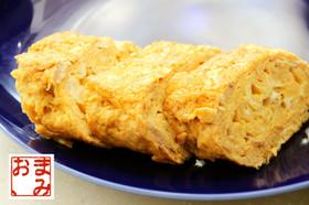 卵焼きの切り方、、。