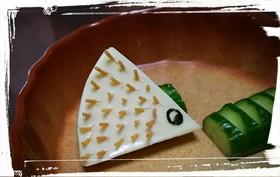 ハリネズミチーズ