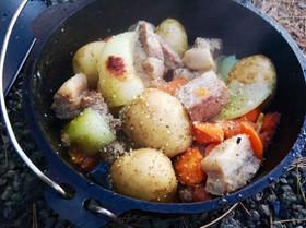 野菜いっぱい簡単ローストポーク