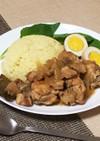 鶏肉・豚肉でスタミナ満点☆アドボ