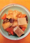 高野豆腐とがんもの煮物