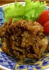 豚肉のチリチリ炒(い)♡お弁当に便利♪