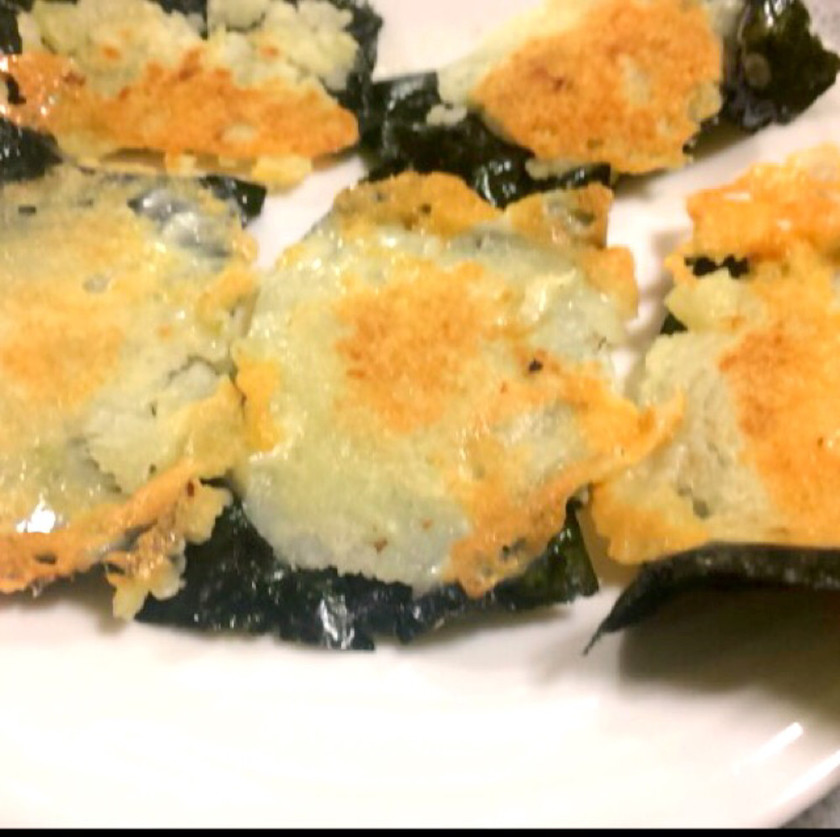 即席簡単おつまみ 海苔チーズ焼き
