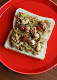 玉ねぎとツナのカレー炒め