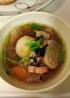 かぶと雑穀のスープ