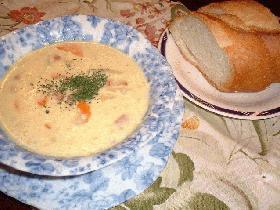 子供も大好き!コーンスープ