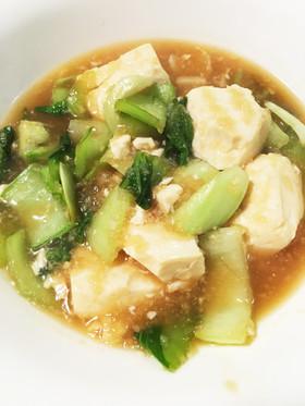 豆腐と青梗菜のみぞれ煮