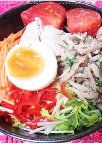 塩レモン豚骨麺(素麺・うどん・きしめん)