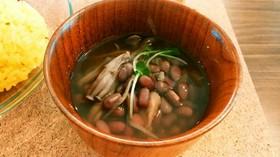 薬膳 むくみとりに小豆のスープ