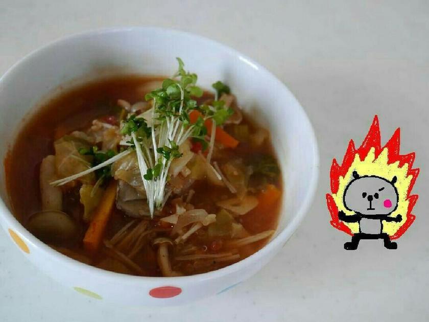 4ヶ月で12kg減★キヌア燃焼スープ