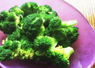 ☆簡単☆ブロッコリーの塩ゆで ごま油風味