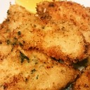 簡単やわらかい鶏胸肉一口チキンカツ常備菜