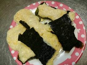 糖質制限オヤツ、海苔チーズ