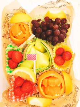 フルーツ盛り合わせお弁当