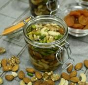 簡単!美味しい!ナッツの蜂蜜漬けの写真