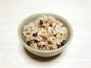 健康ご飯☆黒大豆・古代麦(もち麦)・玄米の写真