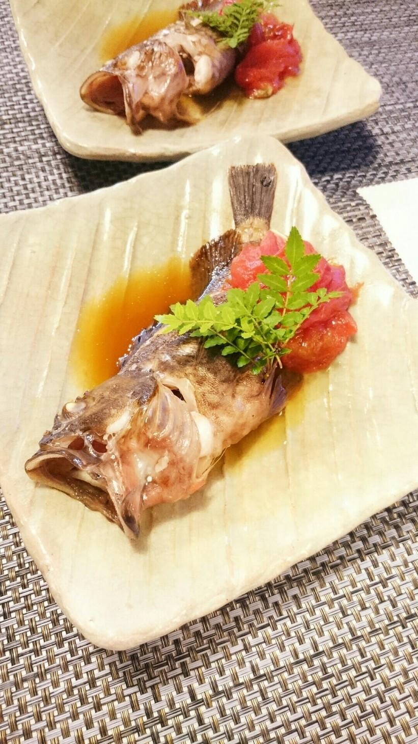 トマ旨煮魚