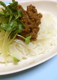 【腎臓病】無塩みそのジャージャー麺