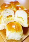 卵と牛乳♪クリームちぎりパン(HB生地)